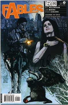 Currently reading: Fables.