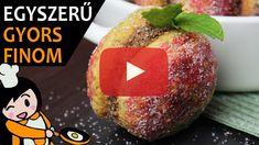 Őszibarack sütemény - Recept Videók Avocado, Make It Yourself, Baking, Fruit, Breakfast, Ethnic Recipes, Food, Youtube, Baking Cookies