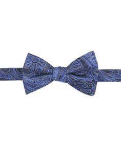Countess Mara Men's Malificent Paisley Pre-Tied Bow Tie - Men's Bow Ties - Men - Macy's