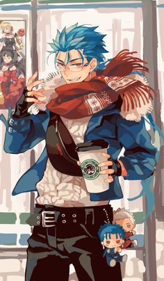 Fate Stay Night Series, Fate Stay Night Anime, Anime Demon, Anime Manga, Anime Art, Fate Zero, Fantasy Character Design, Character Art, Fate Archer