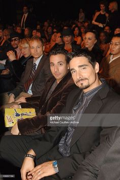 AJ McLean, Nick Carter, Brian Littrell, Howie Dorough and Kevin Richardson of the Backstreet Boys, presenters *EXCLUSIVE*