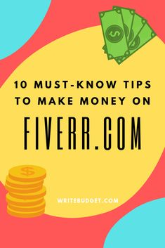Make money online with Fiverr- Here's how! Whether it's a side-hustle or a full time freelance gig, you can make money on Fiverr using these tips & tricks from an experienced seller. Make Money From Home, Way To Make Money, Make Money Online, How To Make, Earn Extra Income, Extra Money, Creative Writing Jobs, Survey Websites, Finance Blog