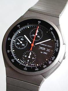 Porsche Design Titanium Chronograph by IWC