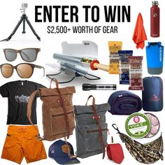 Use this to enter https://wn.nr/6w7E4v   Enter to win a Summer gear setup! ($2,500+ in Prizes)