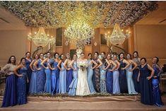 """❤️ por Ana Beatriz Faria on Instagram: """"💙 O time de #madrinhas em tons de azul! Marque aqui a madrinha ou noivinha que está buscando uma inspiração assim! { via @ilovecasar }…"""" Purple Wedding, Summer Wedding, Wedding Day, Made Of Honor, Orlando Wedding, Gray Weddings, Bridesmaid Dresses, Wedding Dresses, Color Azul"""