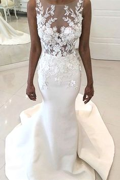 White wedding dress. All brides imagine having the perfect wedding day, but for this they need the best bridal wear, with the bridesmaid's outfits enhancing the brides dress. The following are a number of suggestions on wedding dresses.