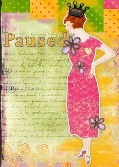 Reasons to Art Journal by Tangie Baxter - concise and inspiring - worth a look :)