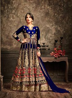 This maisha gown is a true statement maker. mark your impression in the unforgettable style of this ultimate wedding wear. Indian Anarkali Dresses, Designer Anarkali Dresses, Anarkali Gown, Punjabi Wedding Suit, Desi Wedding, Wedding Wear, Wedding Suits, British Wedding Dresses, Day Dresses