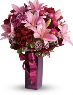 Teleflora's Fall in Love bouquet......IF YOU ARE LOOKING TO SEND ME FLOWERS....
