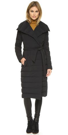 Mackage Cici Wrap Coat | SHOPBOP