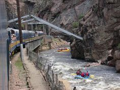 Water Water Rafting down the Colorado River by the Royal Gorge in Canon City, CO