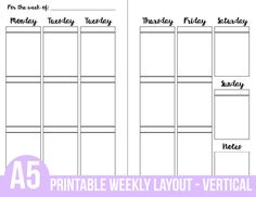 Free Printable A  Monthly Calendars  A Free Printable And