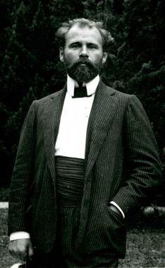 Gustav Klimt fue un pintor simbolista austríaco, y uno de los más conspicuos representantes del movimiento modernista de la secesión vienesa.