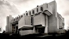 John MacLane Johansen: Goddard Library, Clark University, Worcester, MA, USA, 1968