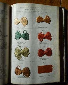Journal of the Society of Dyers and Colourists, vol. 32, no. 5 (May 1916) #dyesamples