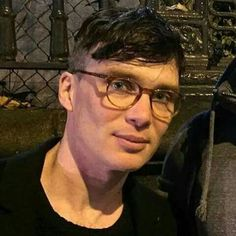 Cillian with glasses. Cillian Murphy Peaky Blinders, Don Juan, Dapper Gentleman, Tom Hardy, Beauty Quotes, Man Crush, Gorgeous Men, New Hair, Actors & Actresses