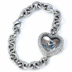 Ladies NBA Dallas Mavericks Heart Watch Jewelry Adviser Nba Watches. $60.00