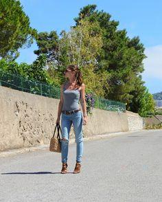 👣🌳 🌞 🚩Ce look est en ligne sur www.emmanuelleilion.fr , excellent mois…
