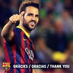 FC Barcelona and Chelsea FC have reached an agreement for the transfer of player Cesc Fàbregas to the English club.  FC Barcelona wishes to publicly thank Cesc Fàbregas for his professionalism and dedication during his years at the Club, which will always be his home, and to wish him all the very best for the future. #ThanksCesc @cescf4bregas