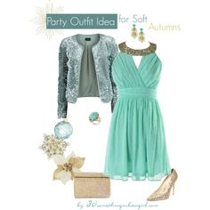 Chic Holiday Party Outfit for Soft Summers and Soft Autumns