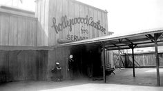 Waiting for the Hollywood Canteen to open during WWII