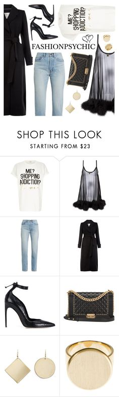 """Shopping Addiction"" by fashionpsychic ❤ liked on Polyvore featuring River Island, Gilda & Pearl, Yves Saint Laurent, Monsoon, Brian Atwood, Chanel, Kenneth Jay Lane, Dina Kamal and Rachel Zoe"