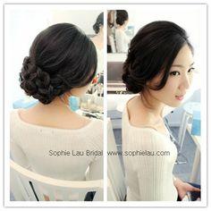 bridal makeup, Asian wedding makeup, bridal hair style