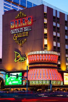 Bye Bye Bill's, Las Vegas, Nevada. I stayed here on my first trip to vegas! Bet it will be sad not seeing it there when I go back in three weeks! Las Vegas Hotels, Vegas Casino, Las Vegas Nevada, Casino Night, Old Vegas, Vegas Fun, Rc Boot, Living In La, Casino Theme