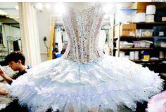 The Dew Drop tutu I made for the new version of The Nutcracker!    Boston Ballet #Nutcracker