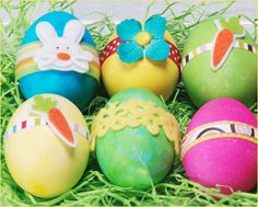 Bright & Crafty Easter Eggs // Hostess with the Mostess®