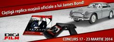 Concurs James Bond #digifilm Bonde, James Bond, Film, Movie, Films, Film Stock, Cinema, Movies