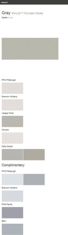 Gray. SlimLite™ Porcelain Panels. Slimlite. Daltile.