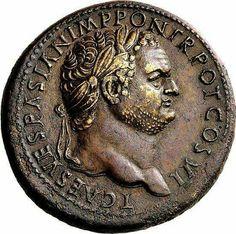 - Sestercio de Titus Caesar , 69-79 ./tcc/