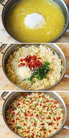 White Rice Recipes, Easy Rice Recipes, Side Dish Recipes, Beef Recipes, Healthy Recipes, Rice Side Dishes, Pasta Dishes, Basil Rice Recipe, Mediterranean Diet Recipes