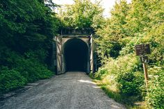 East Side Entrance of mile Snoqualmie Tunnel, Washington state - abandoned rail tunnel now state owned for recreational use Sequim Washington, Washington State Parks, Western Washington, Snoqualmie Washington, Park Trails, Bike Trails, Evergreen State, Chicago, Vacation Places