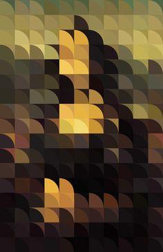 You Know What I Mean by Rafa Jenn (abstract Mona Lisa)