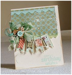 Sweet Birthday Wishes Card by @Sarah Martina Parker