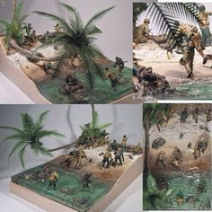Gdzieś na Pacyfiku - 1/35 Em algum lugar no Pacífico - 1/35 Some place in Pacific - 1/35 By: Wapel From:pwm.org #scalemodel #plastimodelismo #miniatura #miniature #miniatur #hobby #diorama #humvee #scalemodelkit #plastickits #usinadoskits #udk #maqueta #maquette #modelismo #modelism