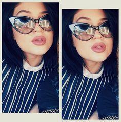 Kylie Jenner's cat eye sunglasses