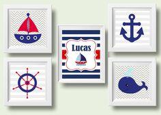 Artes decoração Navy bebê personalizado | Pra gente pequena | Elo7