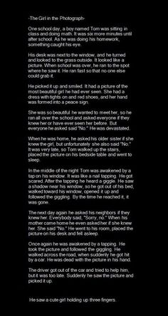Creepypasta-Just a story! Scary Horror Stories, Short Creepy Stories, Spooky Stories, Cute Stories, Ghost Stories, Paranormal Stories True, Funny Scary Stories, Creepy Pasta Stories, Strange Stories