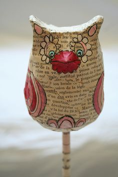 fun with paper mache | Flickr - Photo Sharing!
