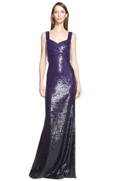 Donna Karan New York Sweetheart Neckline Sequin Gown available at #Nordstrom