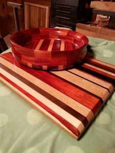 Bowl and Cutting Board by Will