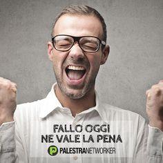Networker ... perché rimandare a domani? => http://www.palestranetworker.com . . . . #mlm #business #networker #networkmarketing #palestranetworker