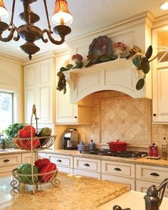 Remodeling traditional kitchen.