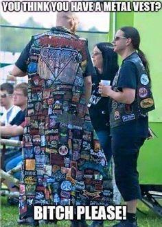 #BattleJacket #Metalvest #patches