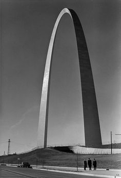 The St. Louis Arch completed in 1965