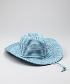 95cb42d2e0d135 Light Blue Jillaroo Cowboy Hat - Women by Wallaroo Hat Company on #zulily  today!