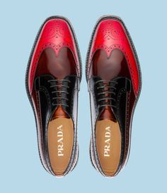 Brogue 3colors, Prada I want!